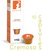 Ecaffe 10 Coffee Capsules Cremoso