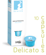 Ecaffe 10 Coffee Capsules Delicato